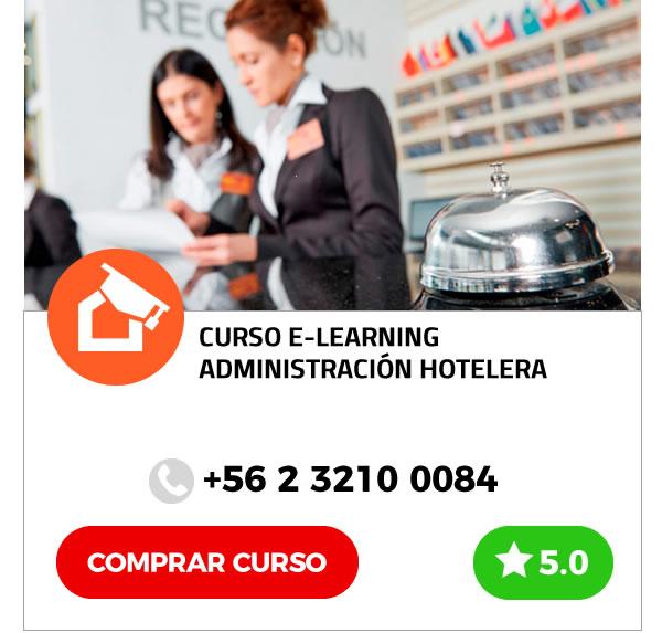 Curso E-learning de Hotelería y Turismo: Administración Hotelera